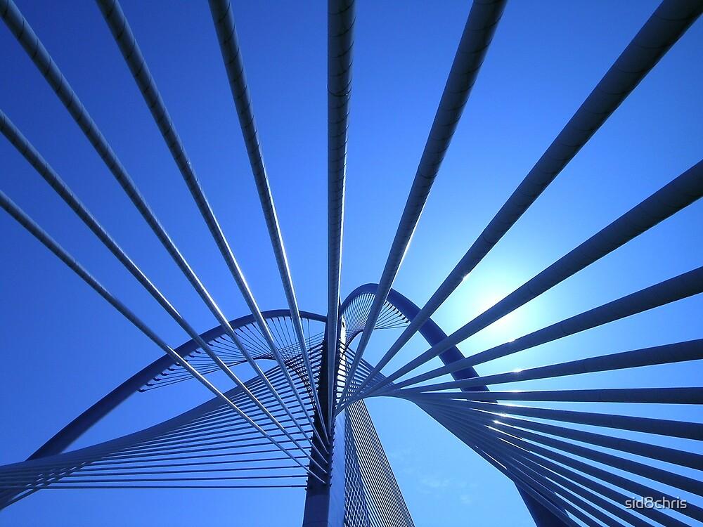 Sun basked bridge by sid8chris