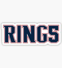 RING5 (Red/White/Navy) Sticker