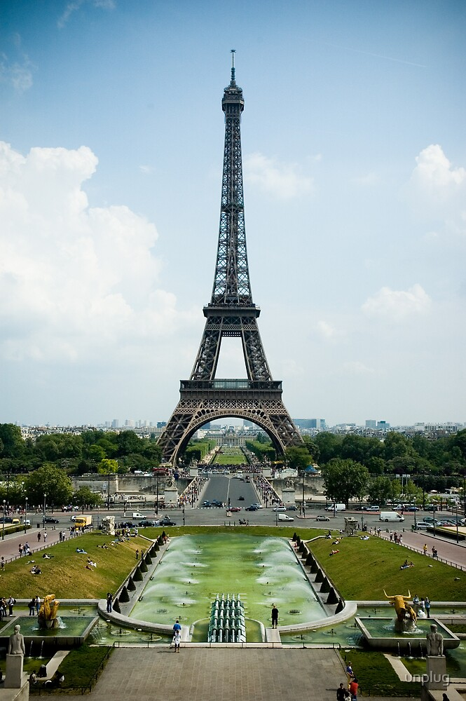 Towering over Paris by unplug