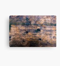 Abstract brown wood texture vintage background Canvas Print