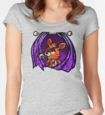 Foxy Five nights at freddy Women's Fitted Scoop T-Shirt
