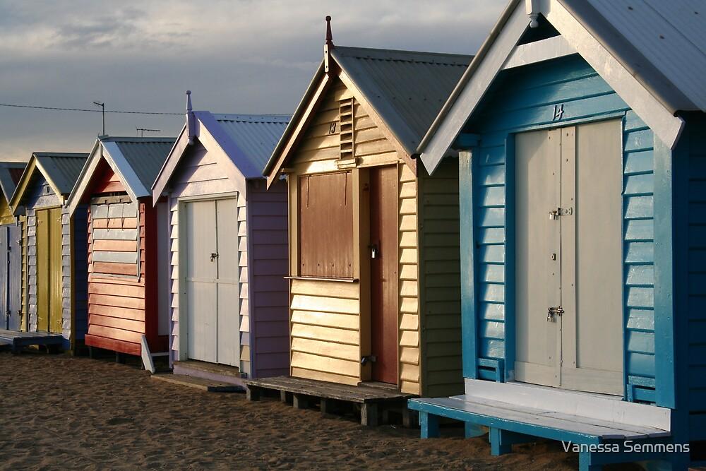 Brighton Beach by Vanessa Semmens
