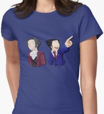 Ace Attorneys  Women's Fitted T-Shirt