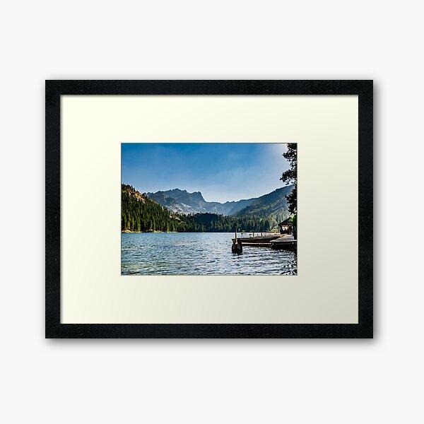 Sardine Lake Framed Art Print