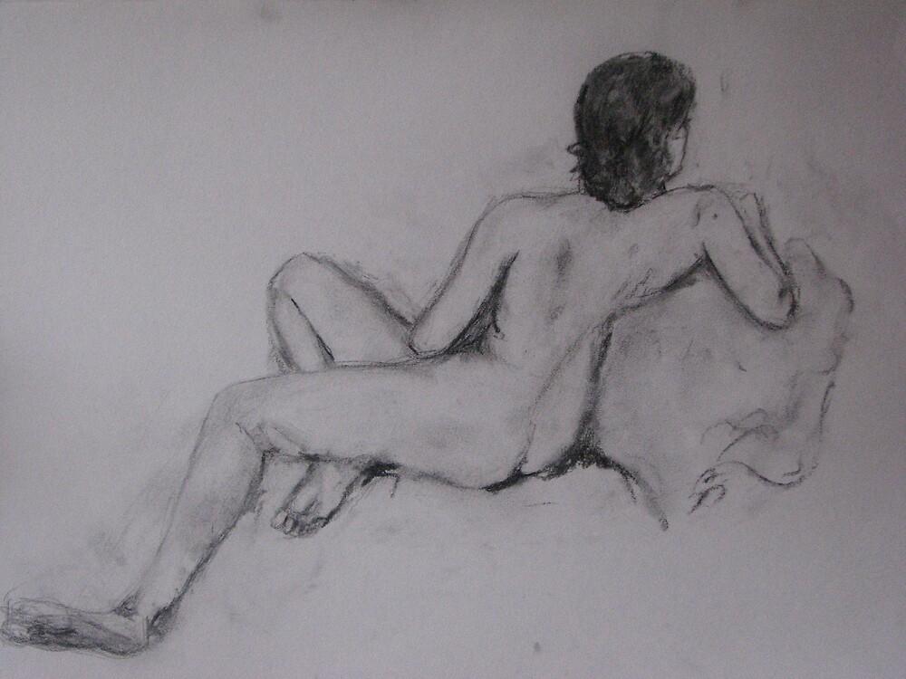 Female Nude by Julie Stewart