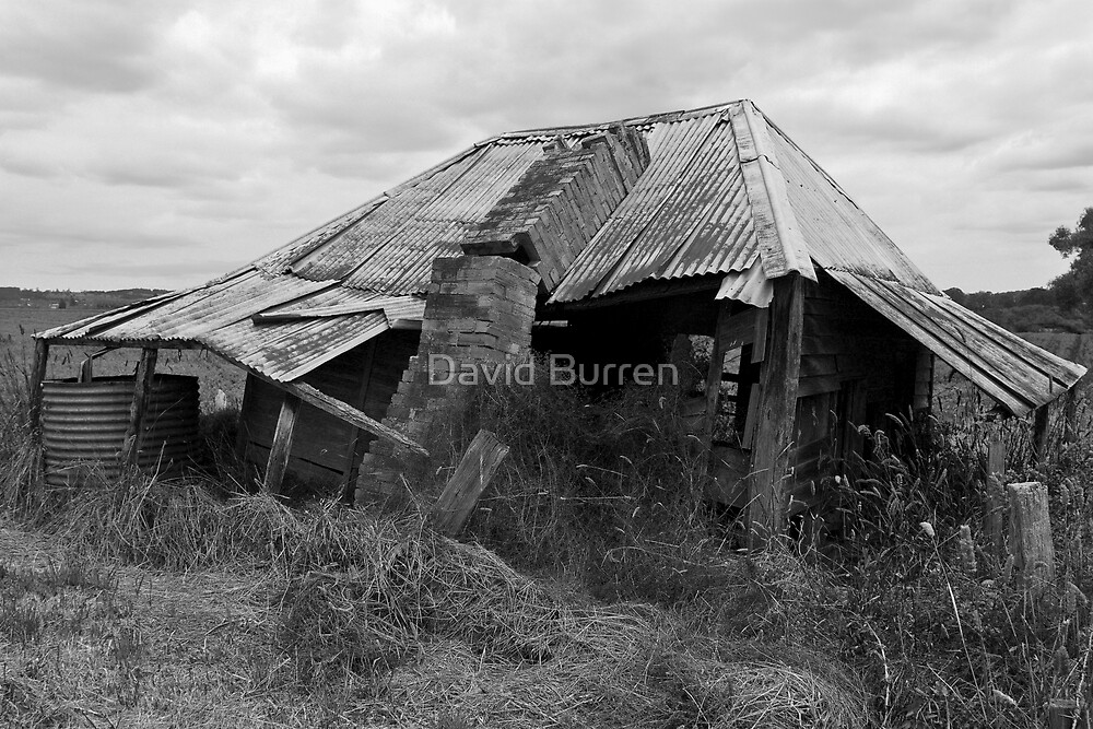 Seen better days (mono) by David Burren
