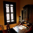 Imagine him sitting at this desk! by bubblehex08