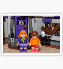 Velma and Daphne Sticker
