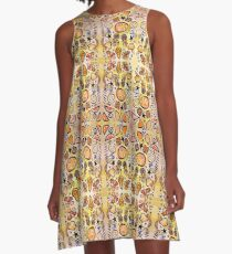 Fruit Out the Wazoot: Psychedelic Kaleidoscope A-Line Dress