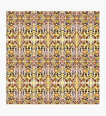 Fruit Out the Wazoot: Psychedelic Kaleidoscope Photographic Print