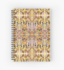 Fruit Out the Wazoot: Psychedelic Kaleidoscope Spiral Notebook
