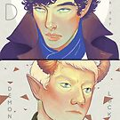 D is for Demonlock by ivorylungs