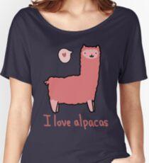 I Love Alpacas Loose Fit T-Shirt