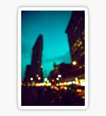 NYC Magical Bokeh Flatiron Sticker