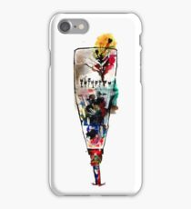 Woman in Africa - Ink Drawing iPhone Case/Skin