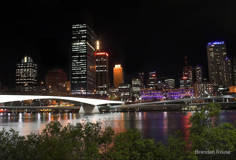 Brisbane City - Queensland, Australia by Brendan Rouse