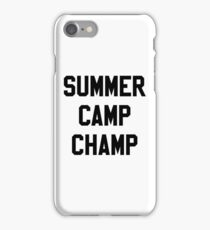 SUMMER CAMP stickers iPhone Case/Skin
