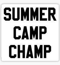 SUMMER CAMP  Sticker