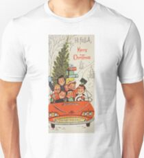 Vintage Christmas Card #5 Unisex T-Shirt