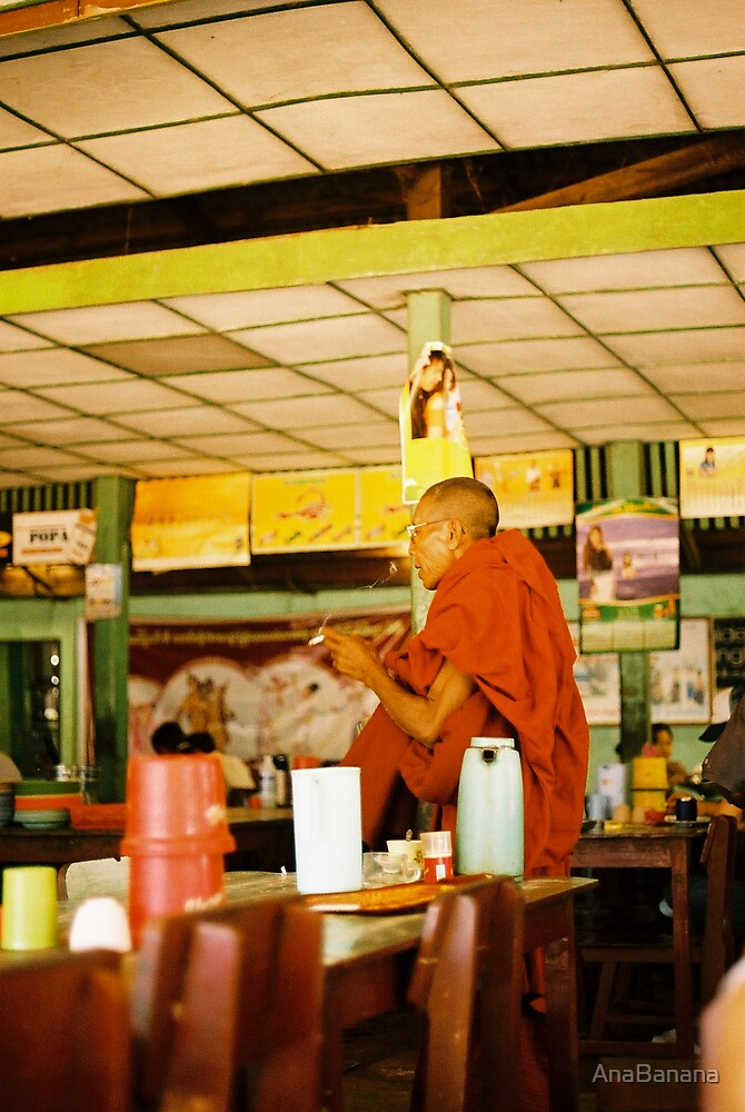 burma monk 2 by AnaBanana