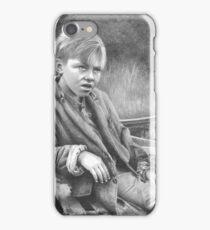 Depression-Era Boy iPhone Case/Skin