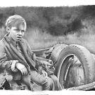 Depression-Era Boy by David J. Vanderpool