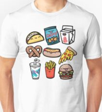Junk Food Dudes Unisex T-Shirt