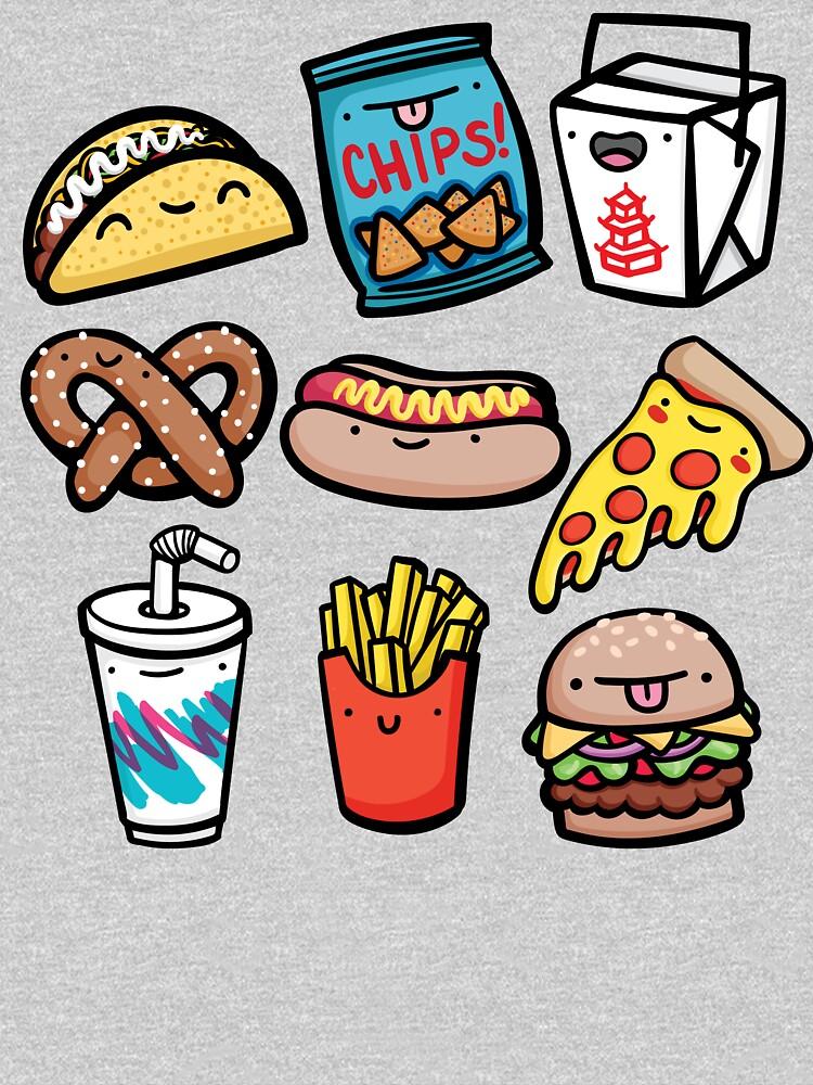 Junk Food Dudes by mcgaugheydesign