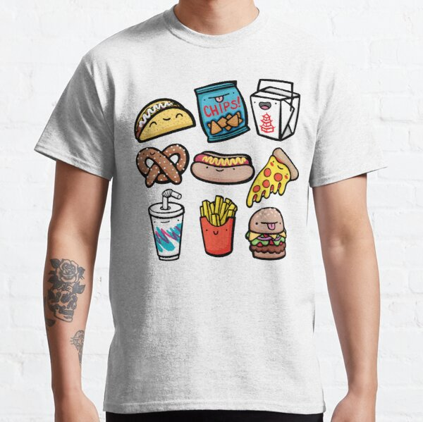 Junk Food Dudes Classic T-Shirt