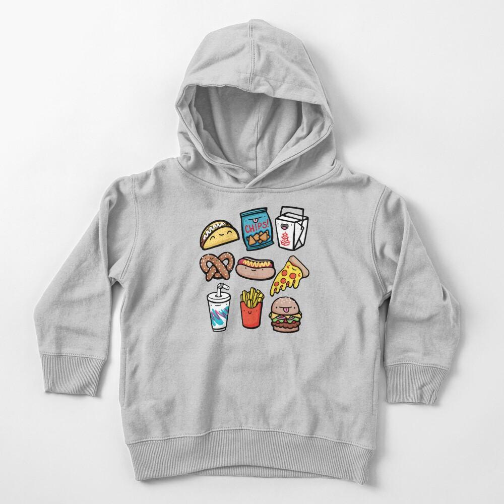 Junk Food Dudes Toddler Pullover Hoodie