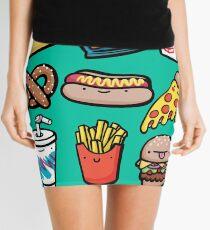 Junk Food Dudes Mini Skirt