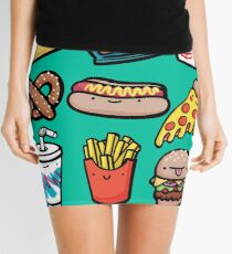 Junk Food Dudes Mini Skirt
