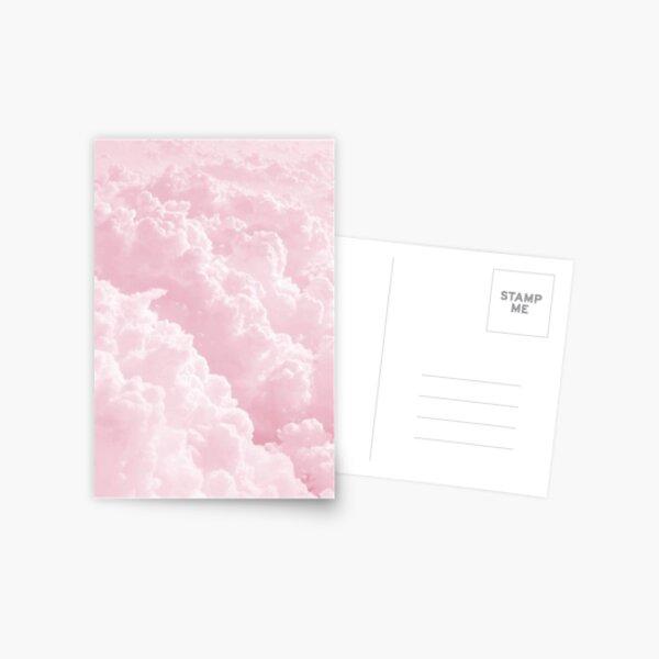 Pink Clouds Postcard