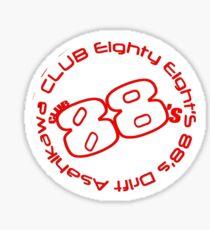 88s crew Sticker