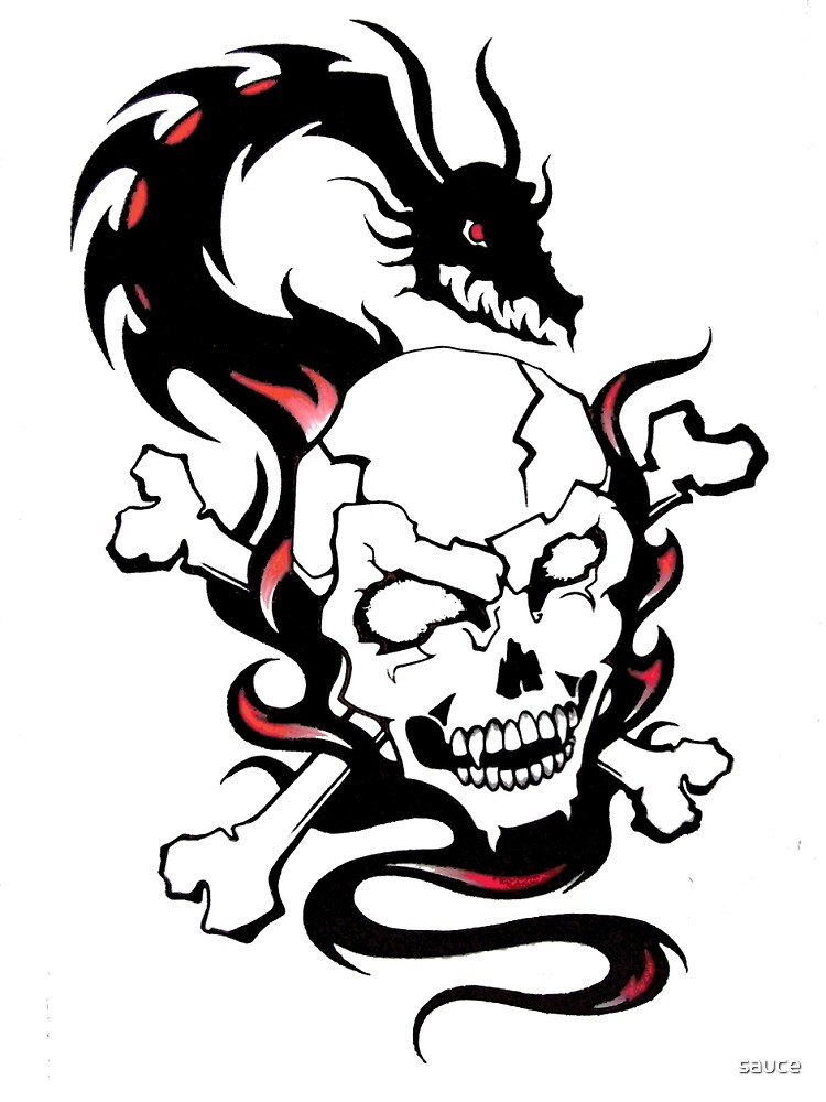 Dragon Skull by sauce
