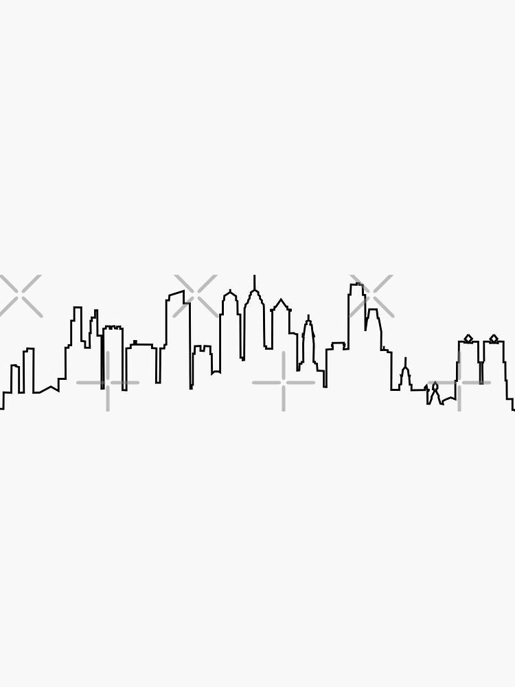 Philadelphia City Skyline by Ashleylcoop