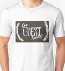The Guest House (college house sign) Unisex T-Shirt