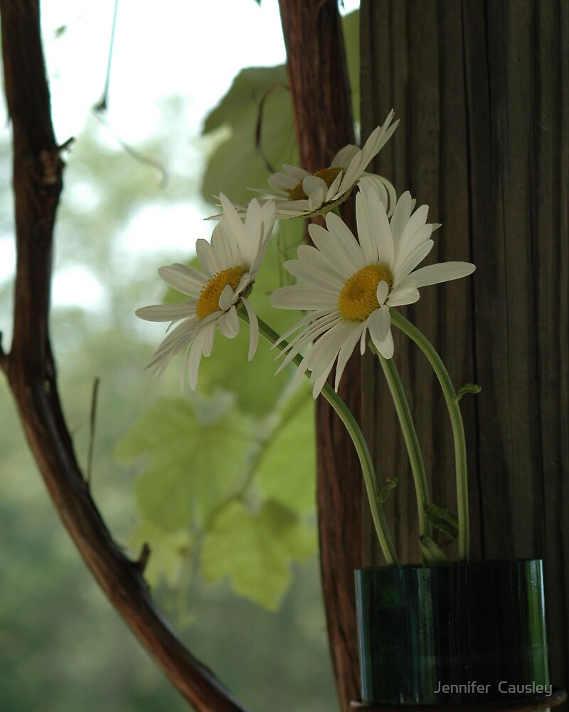 Flower Holder by Jennifer  Causley