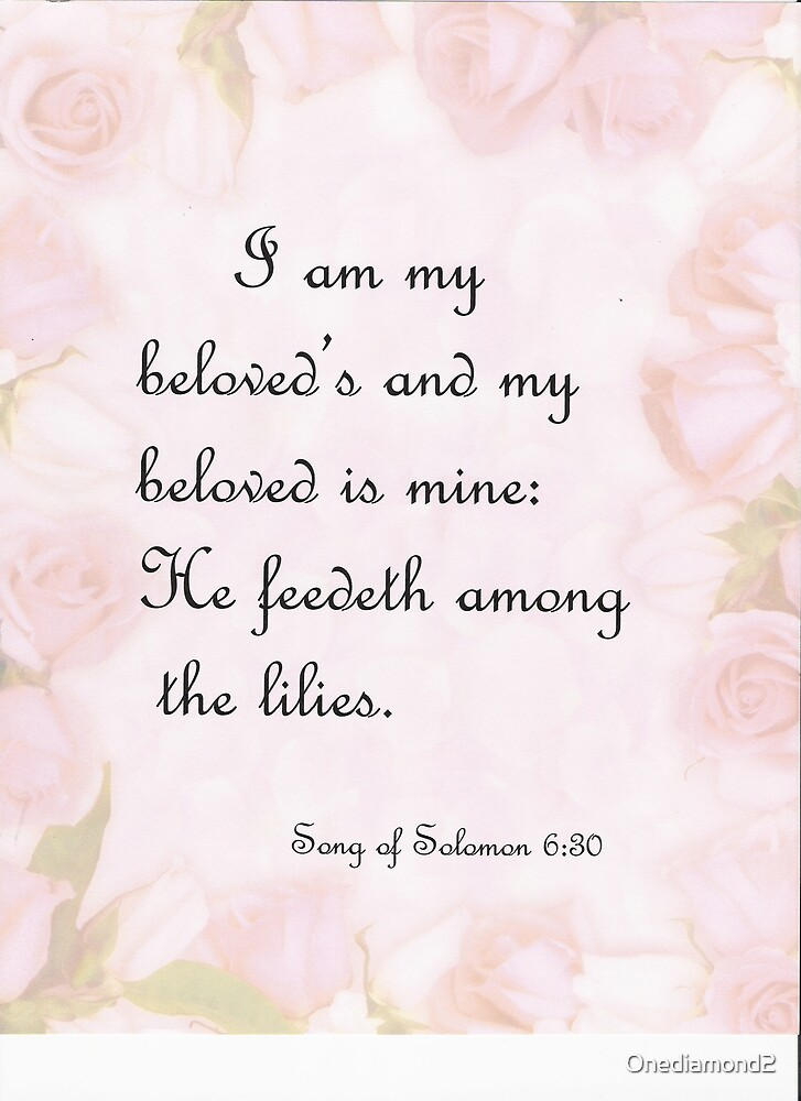 Song of Solomon 6:30 by Onediamond2
