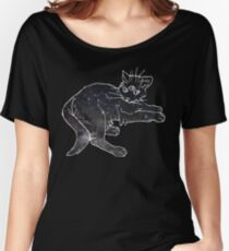 starfield psychic cat [2] Women's Relaxed Fit T-Shirt