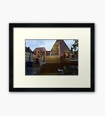 Gallery Reflections #1 Framed Print