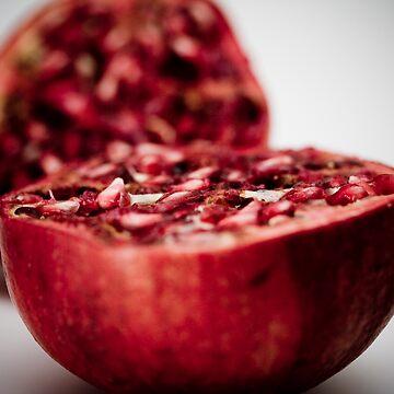 Juicy pomegranate by AquaMarina