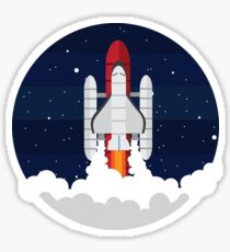 Rocketship  Sticker