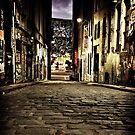 Hosier Lane by Reg  Lyons