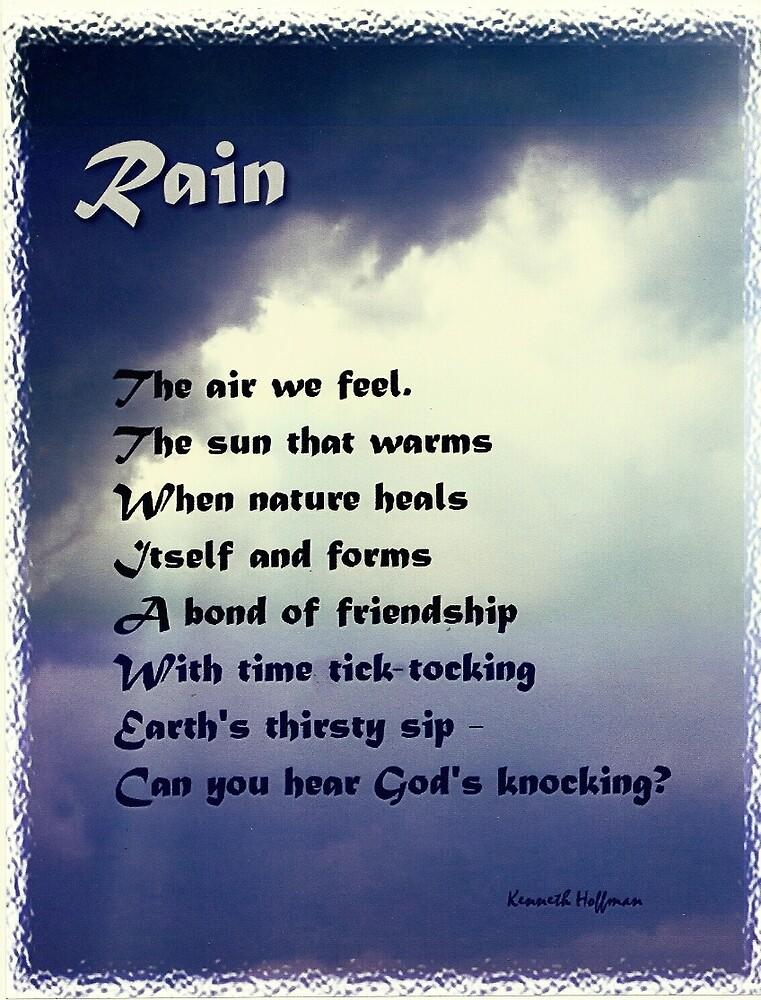 Rain by Kenneth Hoffman
