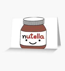 Nutella Jar Greeting Card