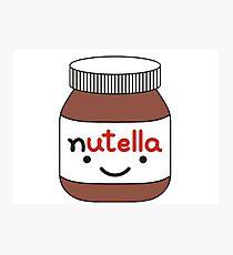 Nutella Jar Photographic Print