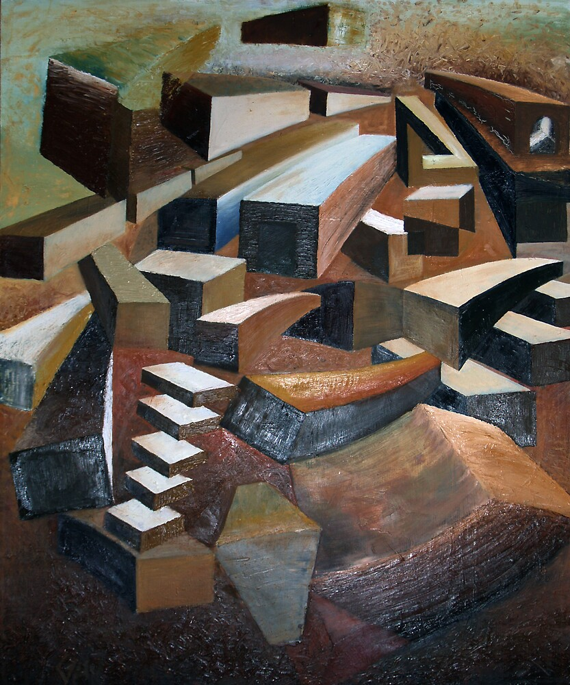 Blocks by Gus McShane