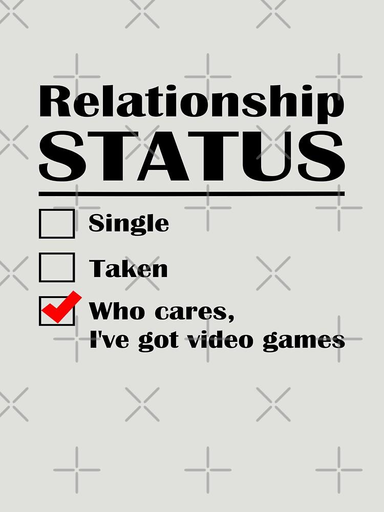 Juegos de Video de Estado de Relación de GeekyAngel