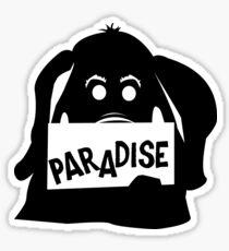 Paradise Elephant Sticker
